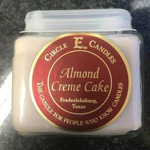 Almond Cream Cake (Circle E Candle)